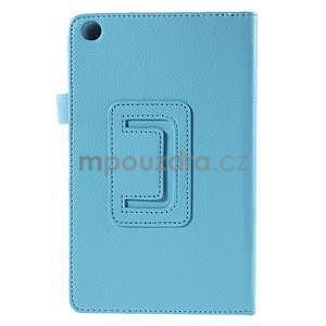 Koženkové pouzdro na tablet Asus ZenPad 7.0 Z370CG - světle modré - 6
