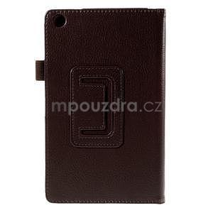 Koženkové pouzdro na tablet Asus ZenPad 7.0 Z370CG - coffee - 6