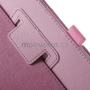 Safety polohovatelné pouzdro na tablet Asus ZenPad 8.0 Z380C - růžové - 6