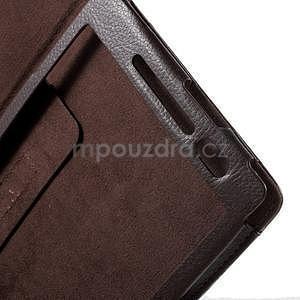 Safety polohovatelné pouzdro na tablet Asus ZenPad 8.0 Z380C - hnědé - 6