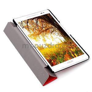 Třípolohové pouzdro na tablet Asus ZenPad 8.0 Z380C - červené - 6