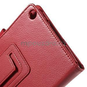 Safety koženkové pouzdro na Asus ZenPad C 7.0 Z170MG - červené - 6