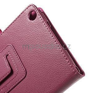Safety koženkové pouzdro na Asus ZenPad C 7.0 Z170MG - rose - 6