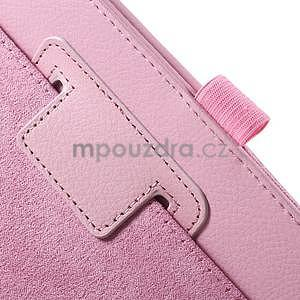 Safety koženkové pouzdro na Asus ZenPad C 7.0 Z170MG - růžové - 6