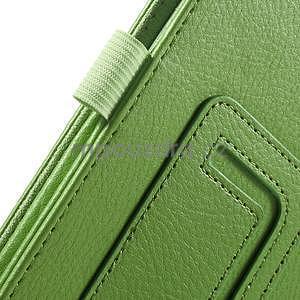 Safety koženkové pouzdro na Asus ZenPad C 7.0 Z170MG - zelené - 6