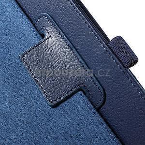 Safety koženkové pouzdro na Asus ZenPad C 7.0 Z170MG - tmavěmodré - 6