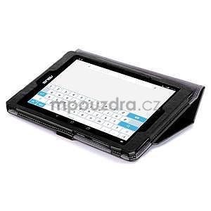 Polohovatelné koženkové pouzdro na tablet Asus ZenPad S 8.0 - černé - 6