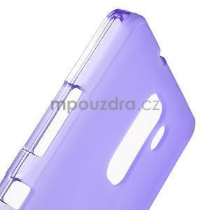 Fialové gelové pouzdro na mobil Honor 7 - 6