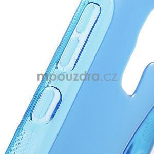Modrý gelový kryt S-line na Huawei Honor 7 - 6