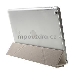 Origami ochranné pouzdro na Apple iPad Air - bílé - 6