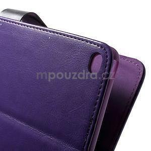 Daffi elegantní pouzdro na iPad Air 2 - fialové - 6