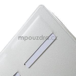 Elegant polohovatelné pouzdro na iPad Air 2 - bílé - 6