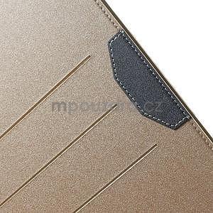 Elegant polohovatelné pouzdro na iPad Air 2 - champagne - 6