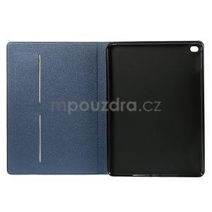 Elegant polohovatelné pouzdro na iPad Air 2 - tmavěmodré - 6