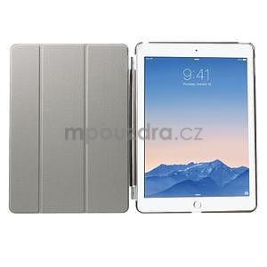 Trifold polohovatelné pouzdro na iPad Air 2 - černé - 6