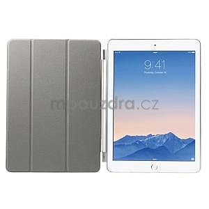 Trifold polohovatelné pouzdro na iPad Air 2 - bílé - 6