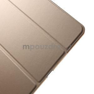 Trifold polohovatelné pouzdro na iPad Air 2 - champagne - 6