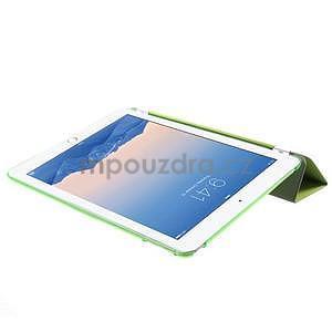 Trifold polohovatelné pouzdro na iPad Air 2 - zelené - 6