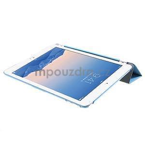 Trifold polohovatelné pouzdro na iPad Air 2 - modré - 6