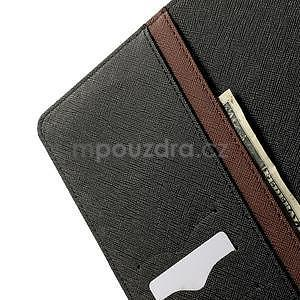 Excelent Diary pouzdro pro iPad Air 2 - hnědé - 6