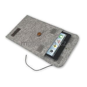 Envelope univerzální pouzdro na tablet 26.7 x 20 cm - coffee - 6