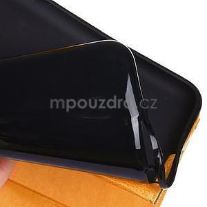 Fashion style pouzdro na iPad Air 2 - světlehnědé - 6