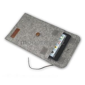 Envelope univerzální pouzdro na tablet 26.7 x 20 cm - hnědé - 6
