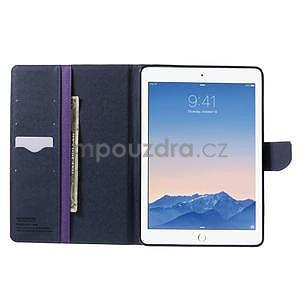 Excelent Diary pouzdro pro iPad Air 2 - fialové - 6