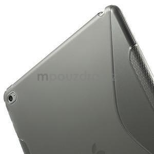 S-line gelový obal na iPad Air 2 - šedý - 6