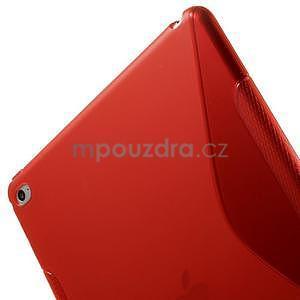 S-line gelový obal na iPad Air 2 - červený - 6