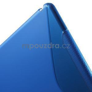 S-line gelový obal na iPad Air 2 - modrý - 6