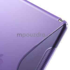 S-line gelový obal na iPad Air 2 - fialový - 6
