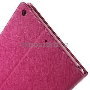 Diary peněženkové pouzdro na iPad Air - rose - 6