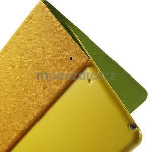 Diary peněženkové pouzdro na iPad Air - zelené - 6