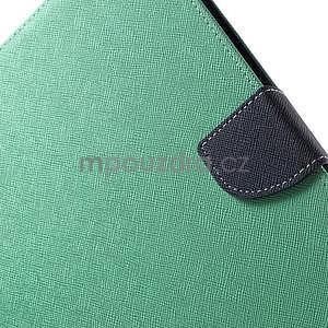 Diary peněženkové pouzdro na iPad Air - azurové - 6