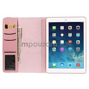 Circ otočné pouzdro na Apple iPad Air - růžové - 6