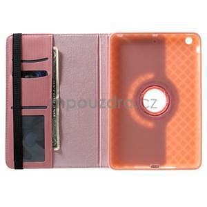 Circu otočné pouzdro na Apple iPad Mini 3, iPad Mini 2 a ipad Mini - růžové - 6