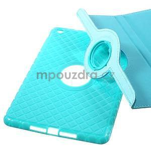 Circu otočné pouzdro na Apple iPad Mini 3, iPad Mini 2 a ipad Mini - modré - 6
