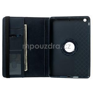 Circu otočné pouzdro na Apple iPad Mini 3, iPad Mini 2 a ipad Mini - tmavěmodré - 6