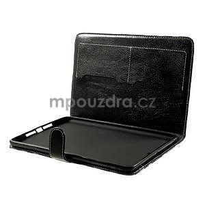Kostkované pouzdro na Apple iPad Mini 3, iPad Mini 2 a iPad Mini - černé - 6
