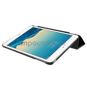 Classic tří polohové pouzdro na iPad Mini 3, ipad Mini 2 a na iPad Mini - černé - 6