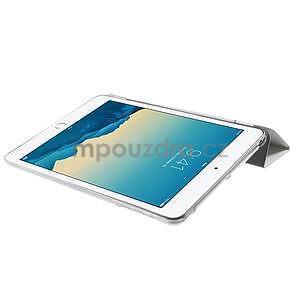 Classic tří polohové pouzdro na iPad Mini 3, ipad Mini 2 a na iPad Mini - bílé - 6