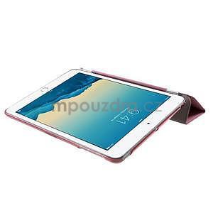 Classic tří polohové pouzdro na iPad Mini 3, ipad Mini 2 a na iPad Mini - růžové - 6