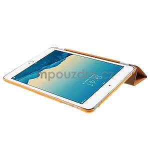 Classic tří polohové pouzdro na iPad Mini 3, ipad Mini 2 a na iPad Mini - oranžová - 6