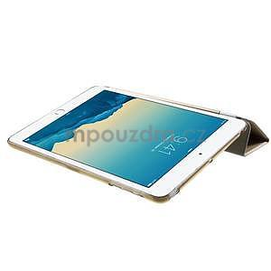 Classic tří polohové pouzdro na iPad Mini 3, ipad Mini 2 a na iPad Mini - champagne - 6