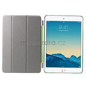 Classic tří polohové pouzdro na iPad Mini 3, ipad Mini 2 a na iPad Mini - zelené - 6