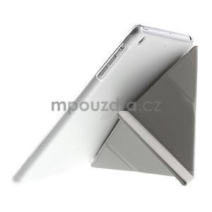 Origami ochranné pouzdro iPad Mini 3, iPad Mini 2, iPad mini - bílé - 6