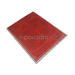 Envelope univerzální pouzdro na tablet 22 x 16 cm - červené - 6