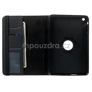 Circu otočné pouzdro na Apple iPad Mini 3, iPad Mini 2 a ipad Mini - černé - 6