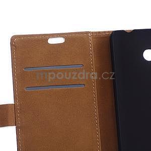 Koženkové pouzdro na mobil Microsoft Lumia 640 - Pisa - 6
